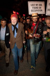 Pete Seeger October 21, 2011 NYC